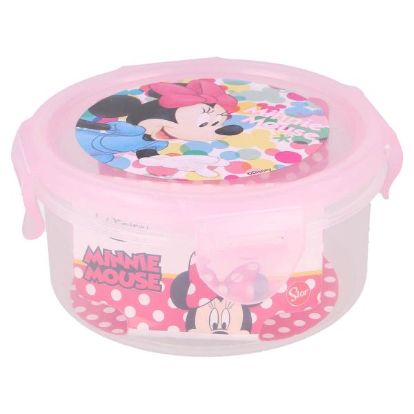 Φαγητοδοχείο 270ml Με Καπάκι Stor Minnie Mouse 51162