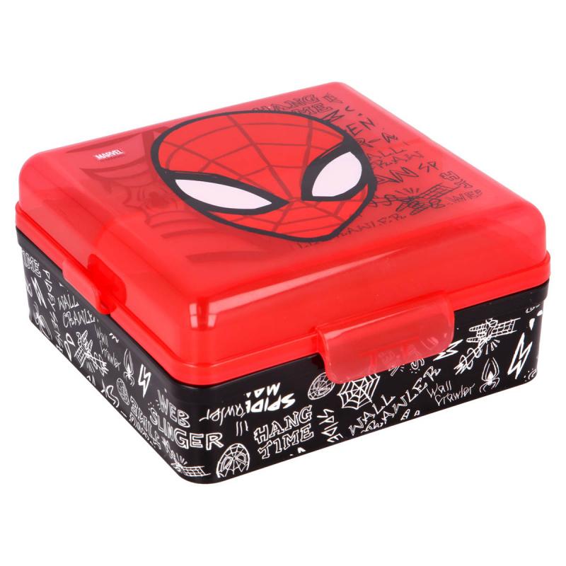 Φαγητοδοχείο Με Χωρίσματα Stor Spiderman 51393