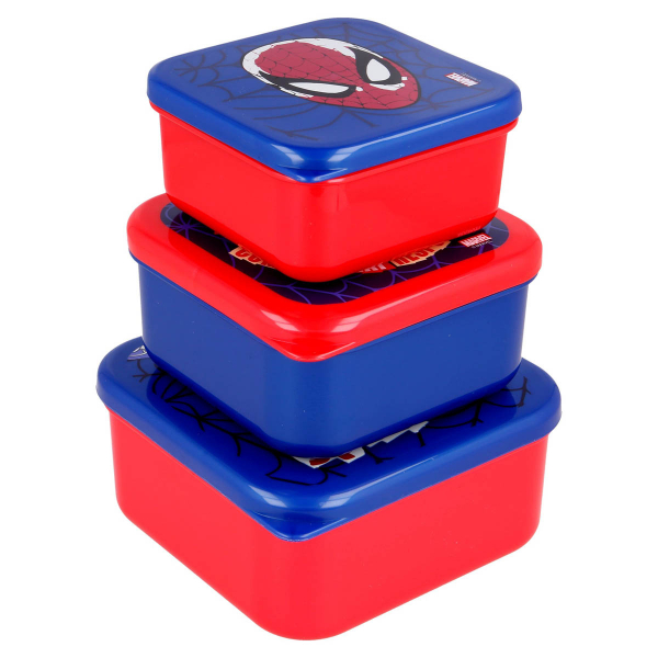 Φαγητοδοχεία (Σετ 3τμχ) Stor Spiderman 61358