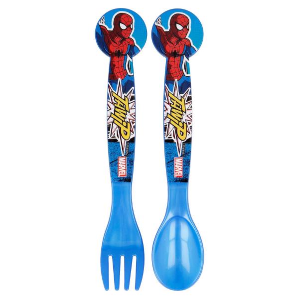 Κουτάλι + Πιρούνι (Σετ) Stor Spiderman 51317