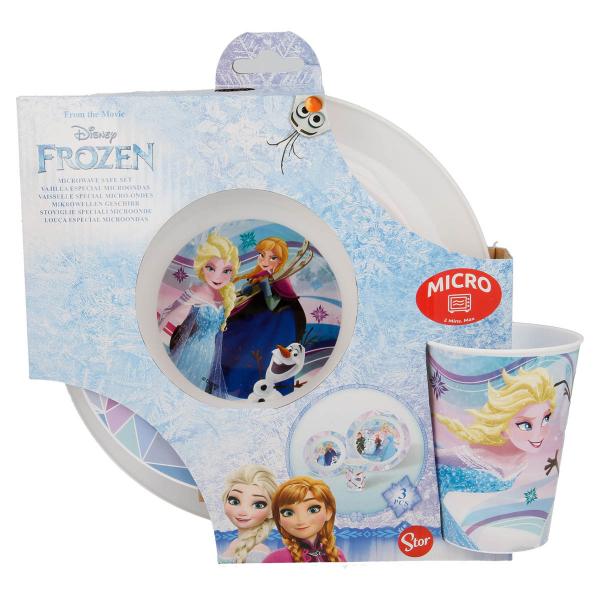 Παιδικό Σετ Φαγητού 3τμχ Stor Frozen 17950