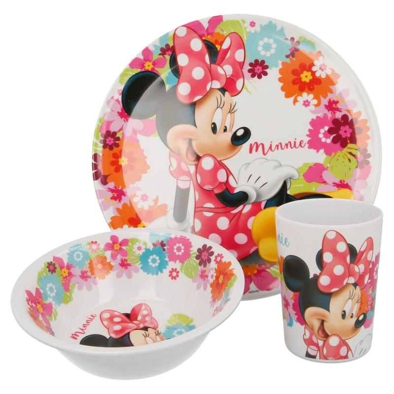 Παιδικό Σετ Φαγητού 3τμχ Stor Minnie Mouse 14590