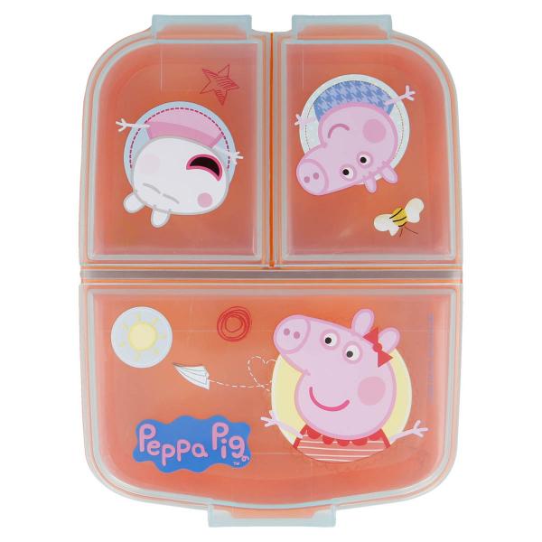 Φαγητοδοχείο Με Χωρίσματα Stor Peppa Pig 13920
