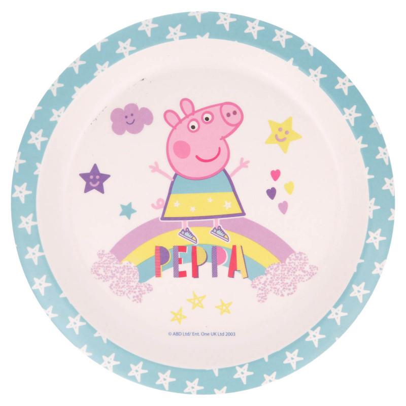 Πιάτο Βαθύ Stor Peppa Pig 01381