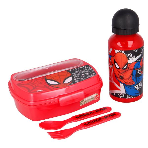 Παιδικό Σετ Φαγητού 4τμχ - Lunchset Stor Spiderman 51363