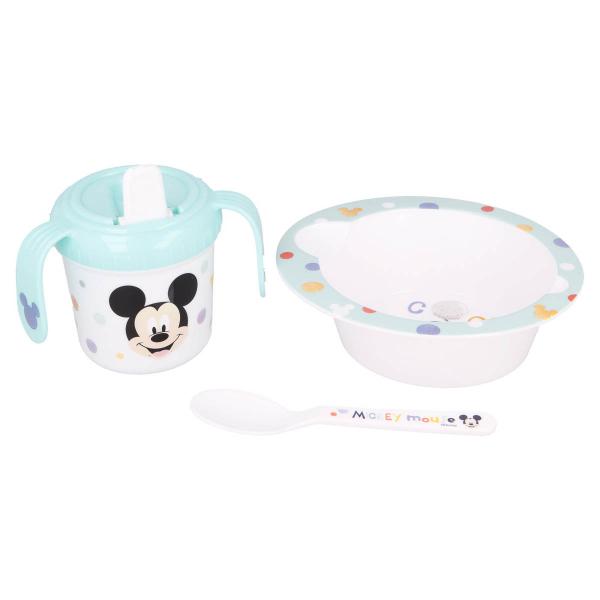 Παιδικό Σετ Φαγητού 3τμχ Stor Mickey Mouse 13007