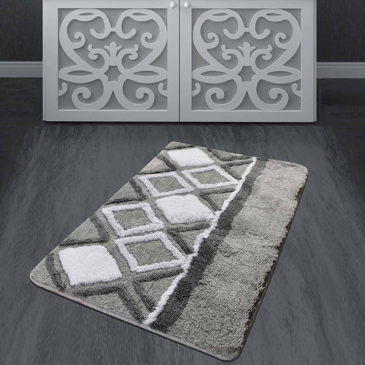 Πατάκι Μπάνιου (60×100) Chilai Jane Gris