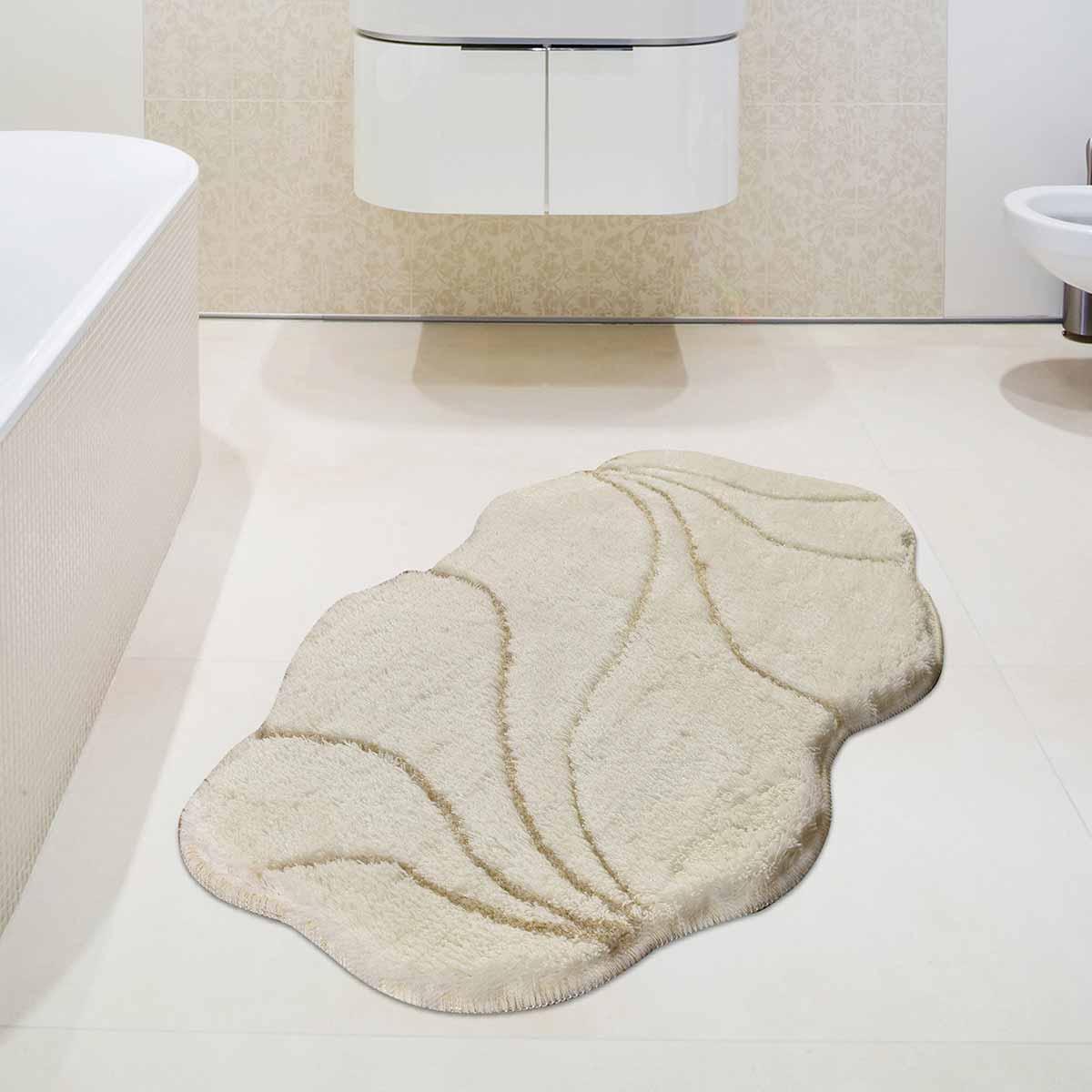 Πατάκι Μπάνιου (60×100) Chilai Prive Ecru