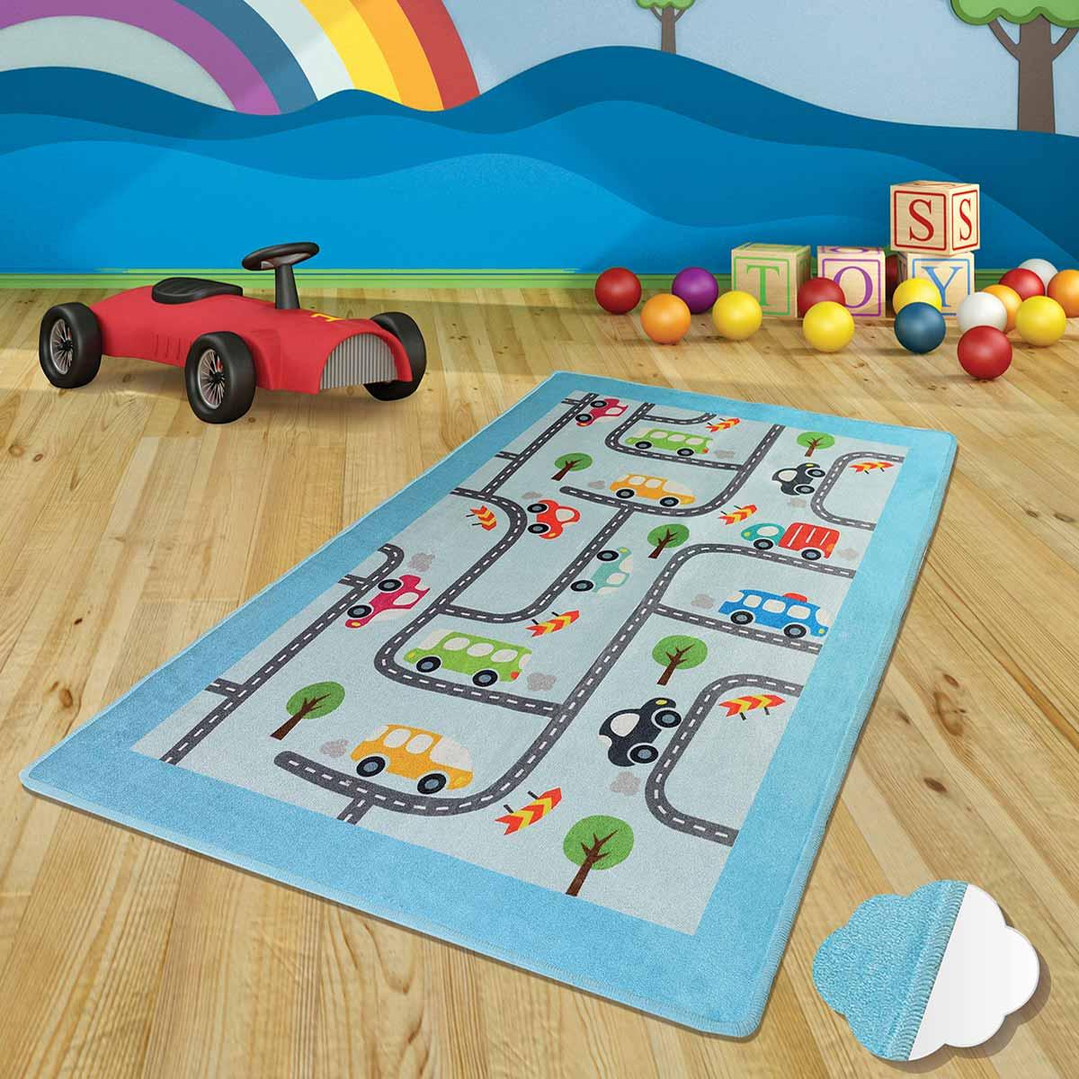 Παιδικό Χαλί (140×190) Chilai Baby Cars