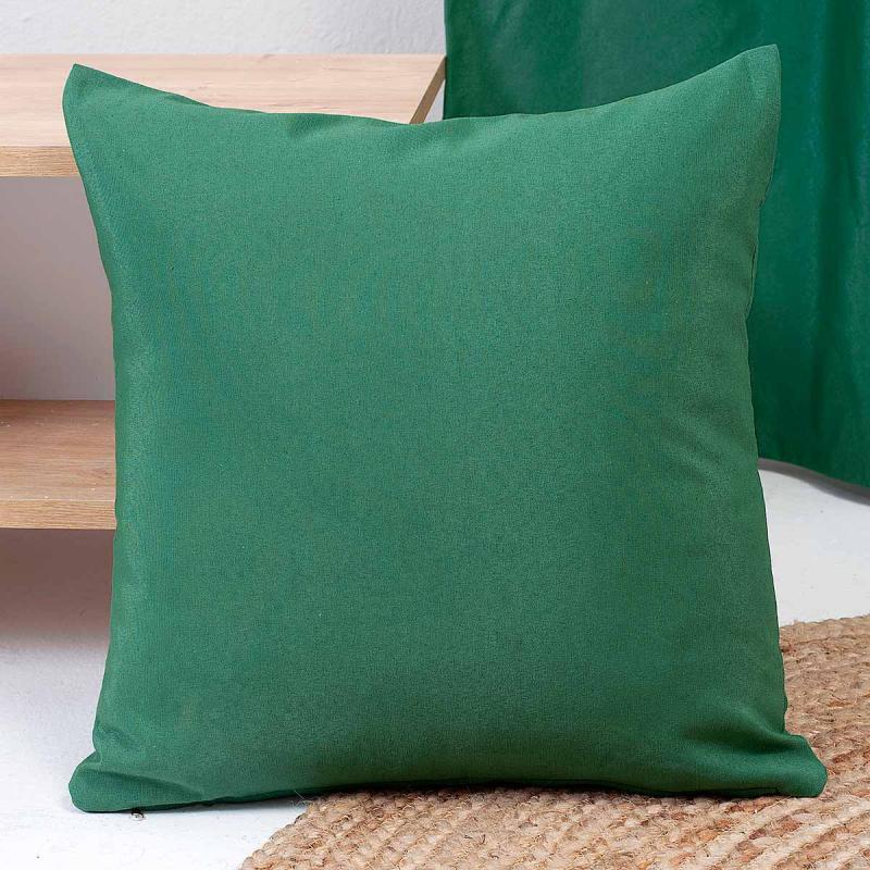 Διακοσμητική Μαξιλαροθήκη (45x45) Ravelia Fiume 707 Green