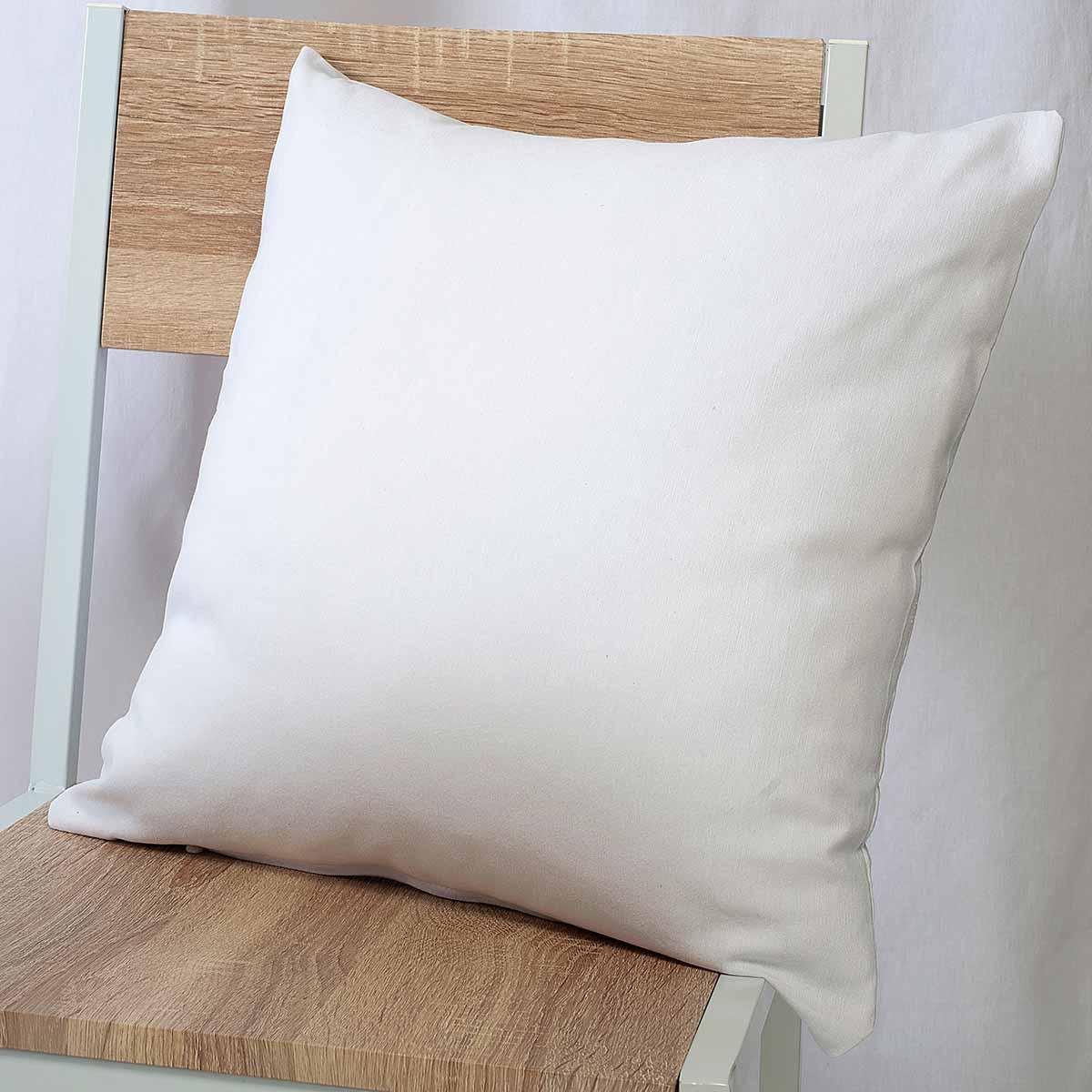 Διακοσμητική Μαξιλαροθήκη (45×45) Ravelia Loneta Fiume 090 White