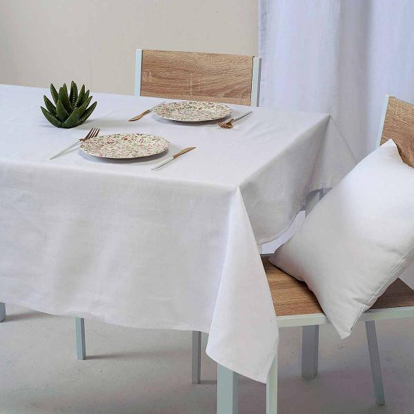 Τραπεζομάντηλο (135x135) Ravelia Loneta Fiume 090 White