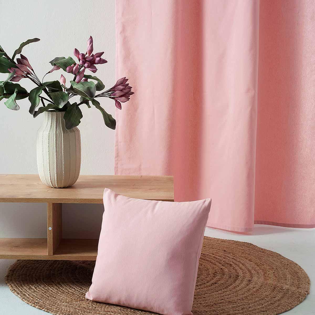 Κουρτίνα (300×270) Με Τρέσα Ravelia Fiume 302 Pink
