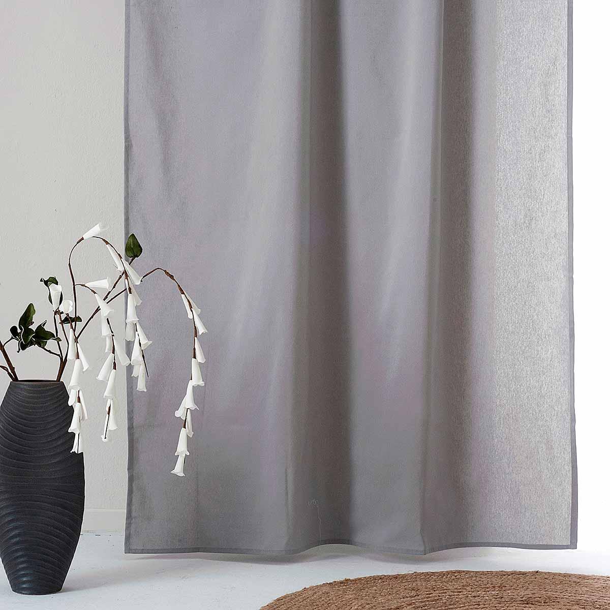 Κουρτίνα (300×270) Με Τρέσα Ravelia Fiume 802 Grey