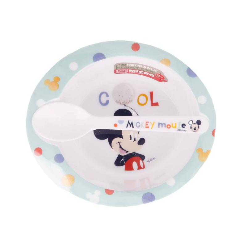 Παιδικό Σετ Φαγητού 2τμχ Stor Mickey Mouse 13078