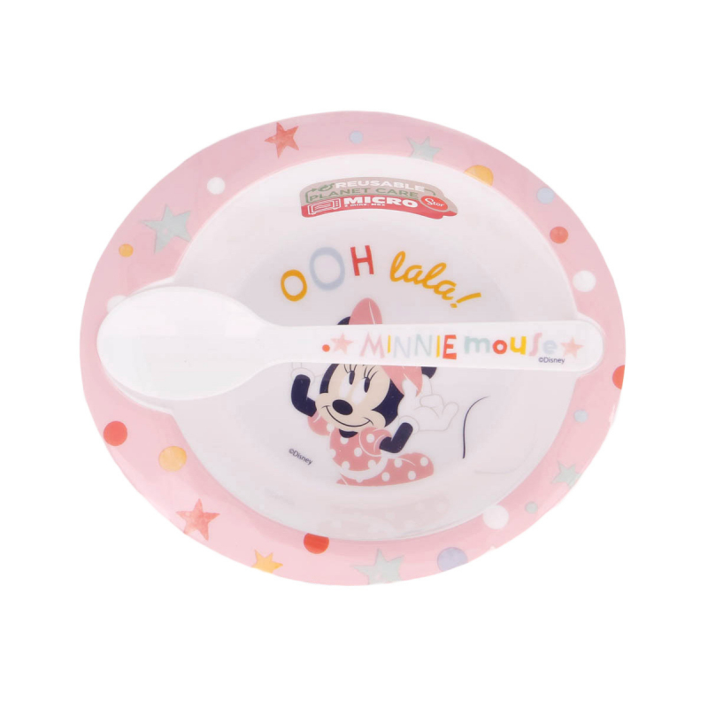 Παιδικό Σετ Φαγητού 2τμχ Stor Minnie Mouse 13178