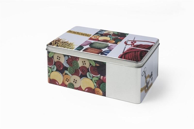Κουτί Αποθήκευσης Μεταλλικό Espiel Κουβάρι HUG106