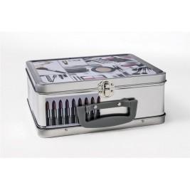 Κουτί Αποθήκευσης Μεταλλικό Espiel Καλλυντικά HUG118