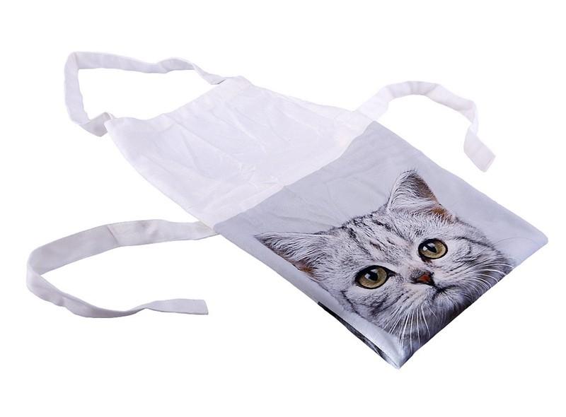 Ποδιά Κουζίνας Espiel Γάτα Γκρι HEM227