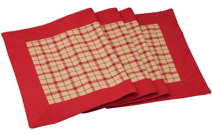 Τραπεζομάντηλο (140×180) Espiel Κόκκινο Καρώ OTH202