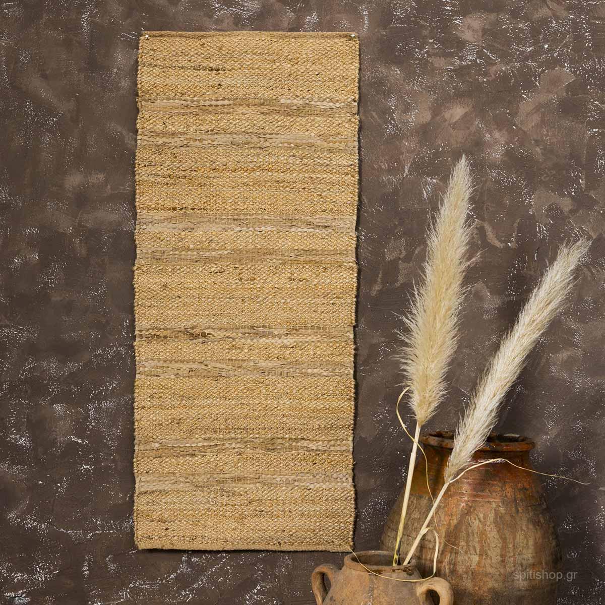Χαλί Διαδρόμου (60×130) Nima Carpets Lineda Beige