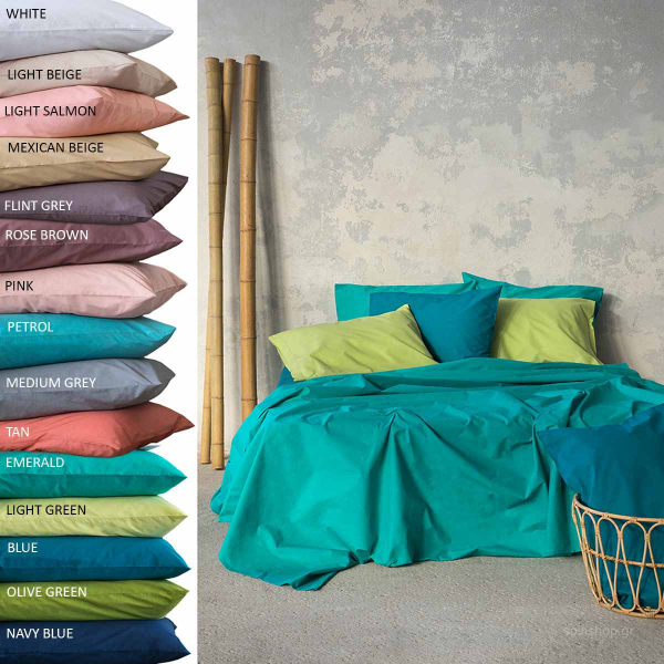 Σεντόνι Υπέρδιπλο Επίπεδο Nima Bed Linen Unicolors