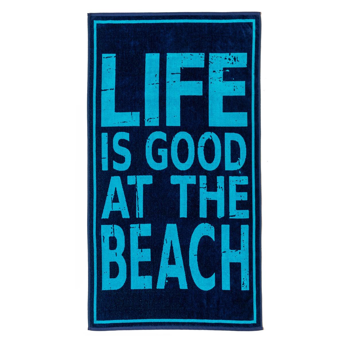 Πετσέτα Θαλάσσης Melinen Life Is Good
