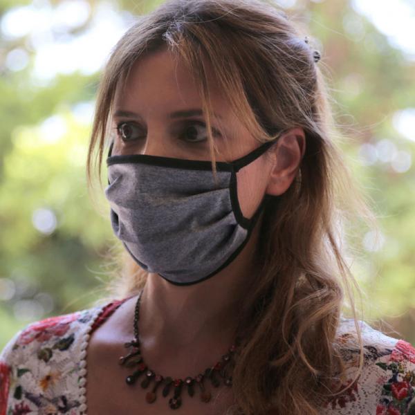 Μάσκα Προστασίας Υφασμάτινη San Lorentzo SL123 Grey/Black