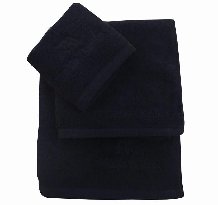 Πετσέτες Μπάνιου (Σετ 3τμχ) Makis Tselios Minimal Black
