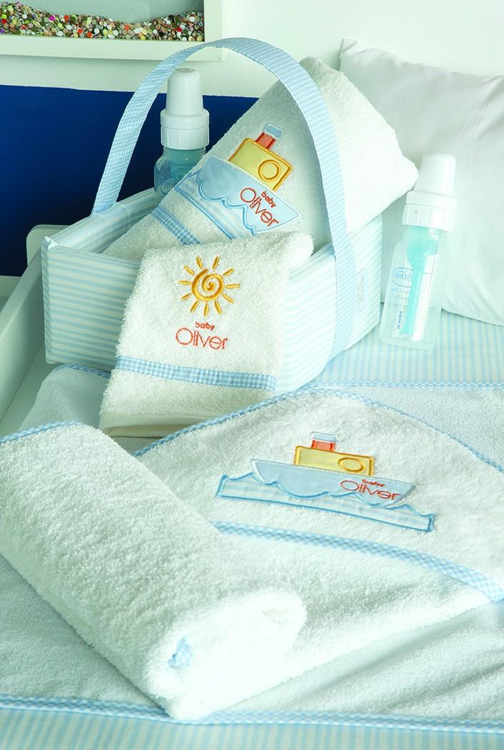 Βρεφικές Πετσέτες (Σετ 2τμχ) Baby Oliver Sail Away 632
