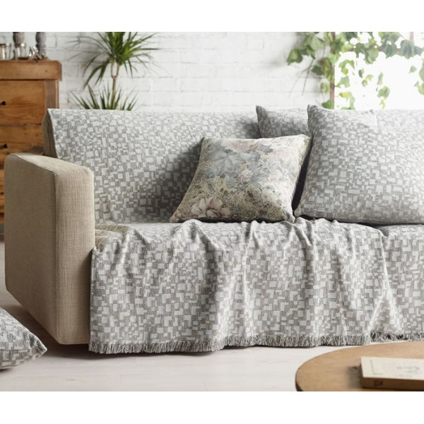 Διακοσμητική Μαξιλαροθήκη Gofis Home 569 Grey