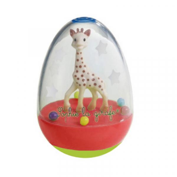 Παιχνίδι Ισορροπίας Sophie The Giraffe Αυγό S800781 Κόκκινο