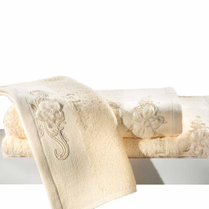 Πετσέτες Μπάνιου (Σετ 3τμχ) Guy Laroche Phedra Ivory