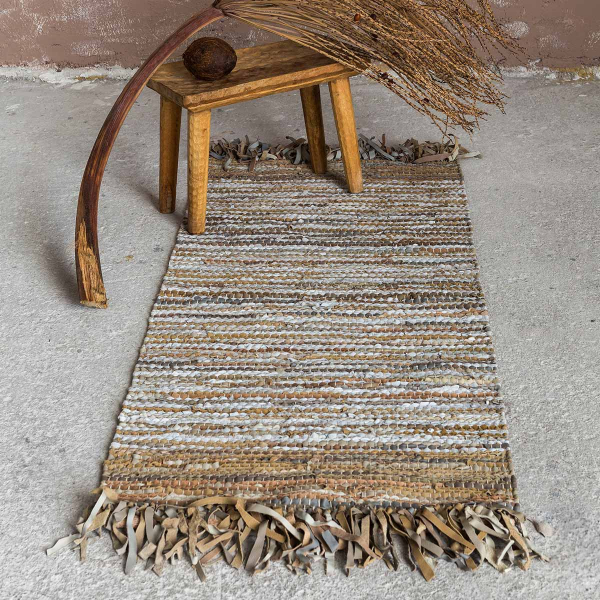 Δερμάτινο Χαλάκι (60x130) Nima Carpets Elior