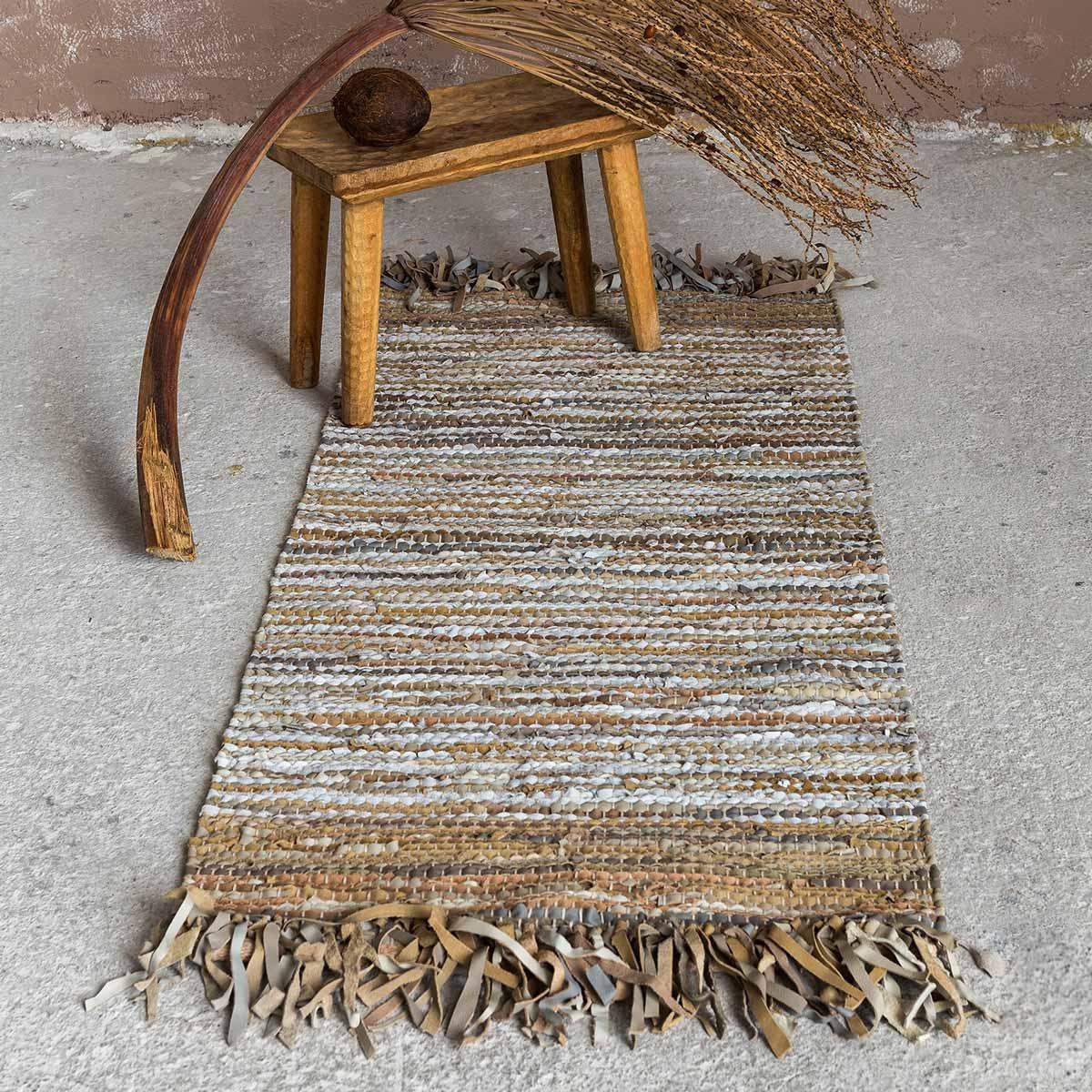 Δερμάτινο Χαλάκι (60×130) Nima Carpets Elior