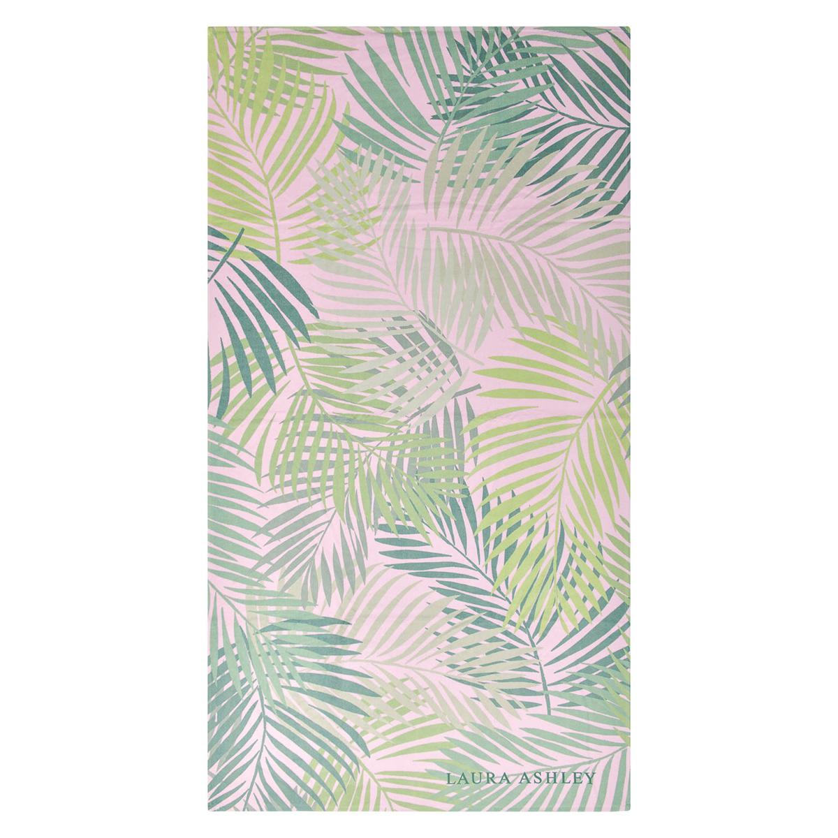 Πετσέτα Θαλάσσης Laura Ashley Palm Leaves