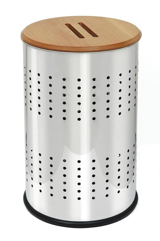 Καλάθι Απλύτων 40×65 PamCo 80-4065-001 Inox