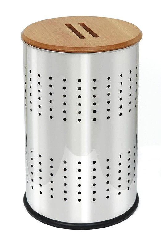 Καλάθι Απλύτων 40×65 PamCo Inox