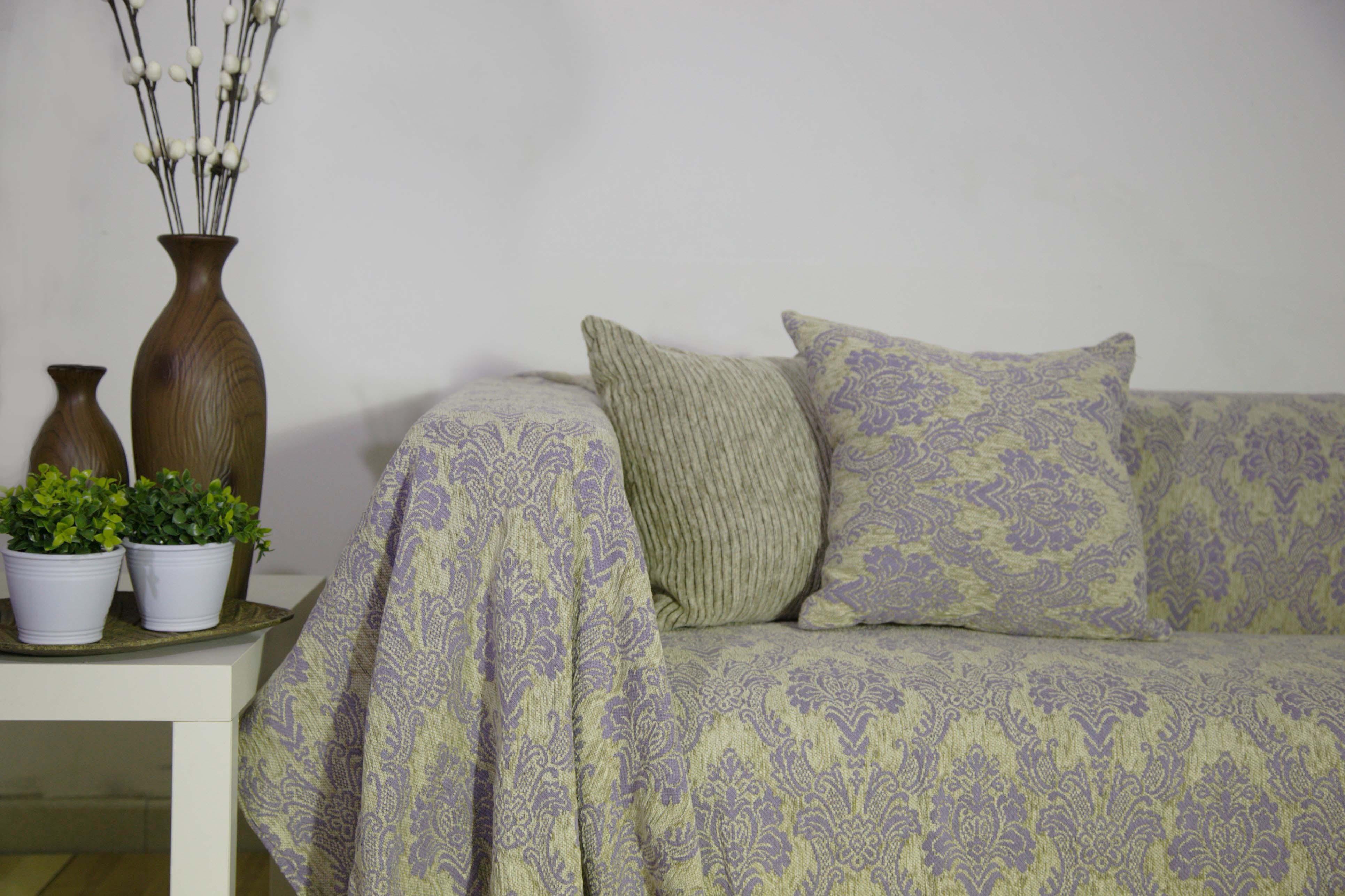 Διακοσμητική Μαξιλαροθήκη Lorenzo Santaniello Victorian Lilac