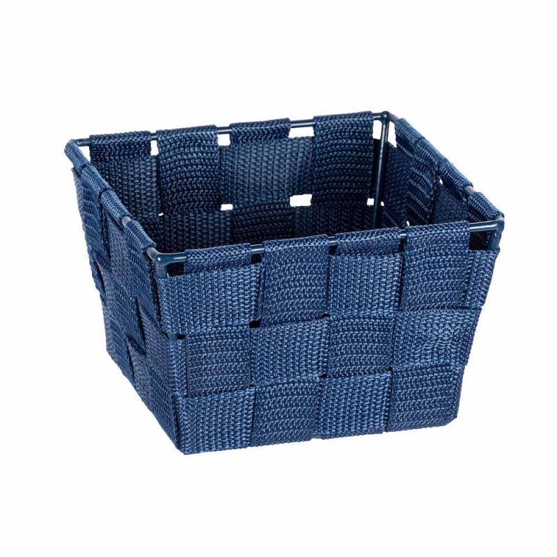 Καλάθι Αποθήκευσης (14x14x9) Wenko Adria Dark Blue 23782100