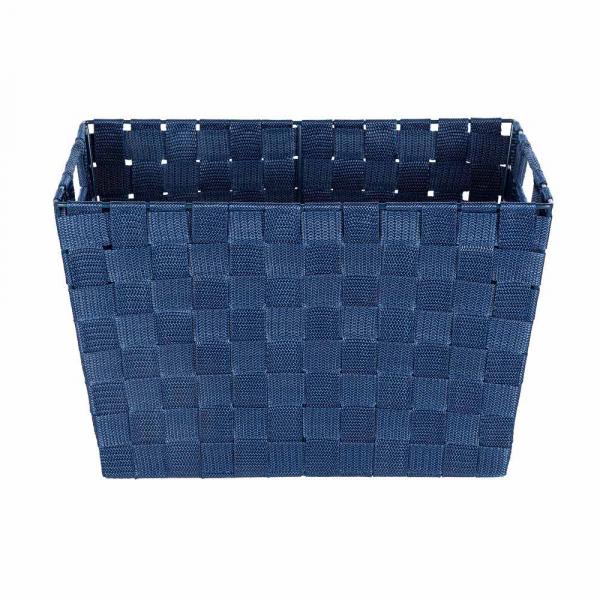 Καλάθι Αποθήκευσης (35x25.5x22) Wenko Adria Dark Blue 23785100