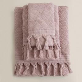 Πετσέτες Μπάνιου (Σετ 3τμχ) Rythmos Canada Pink