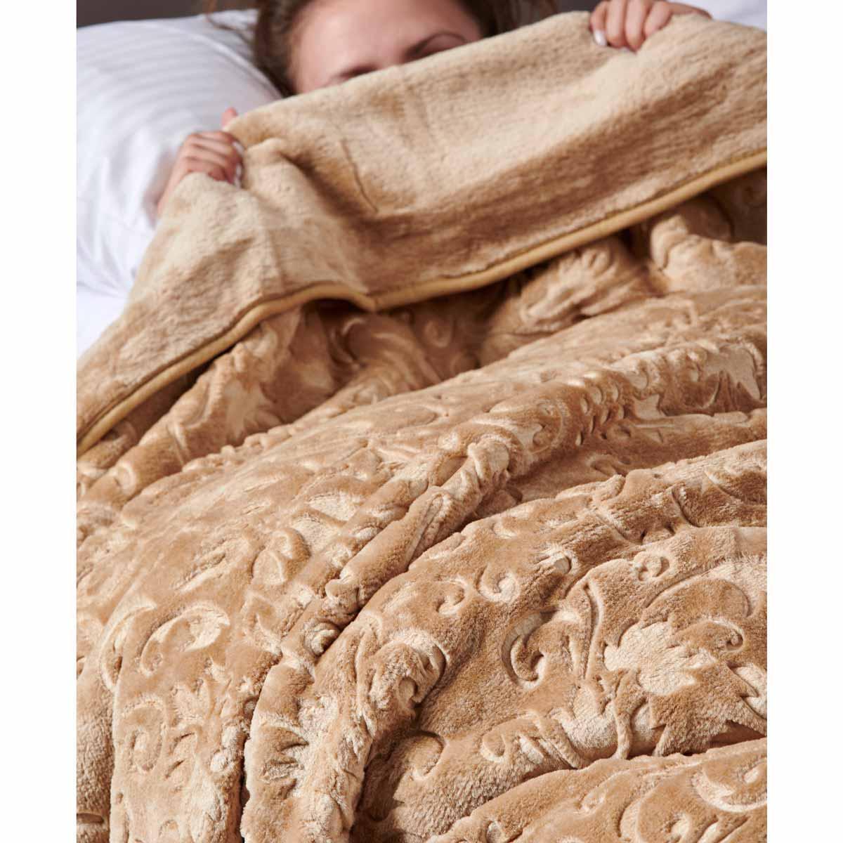 Κουβέρτα Βελουτέ Υπέρδιπλη Palamaiki Aura Daphne