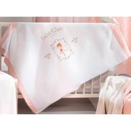 Κουβέρτα Πικέ Κούνιας Saint Clair Ballerina