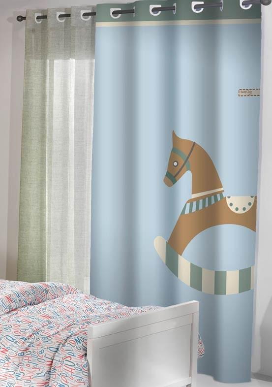 Παιδική Κουρτίνα (160x250) Saint Clair Toy Blue