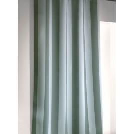 Παιδική Κουρτίνα (160x250) Με Τρουκς Saint Clair Sky/Green Stripes