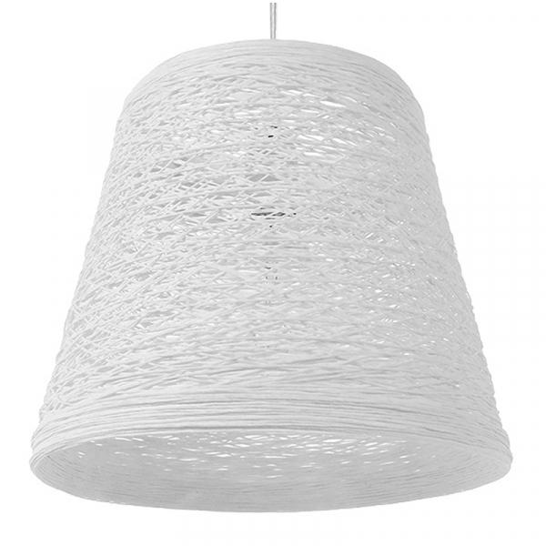 Φωτιστικό Οροφής Μονόφωτο Globostar Playroom 01562 Rattan Λευκό