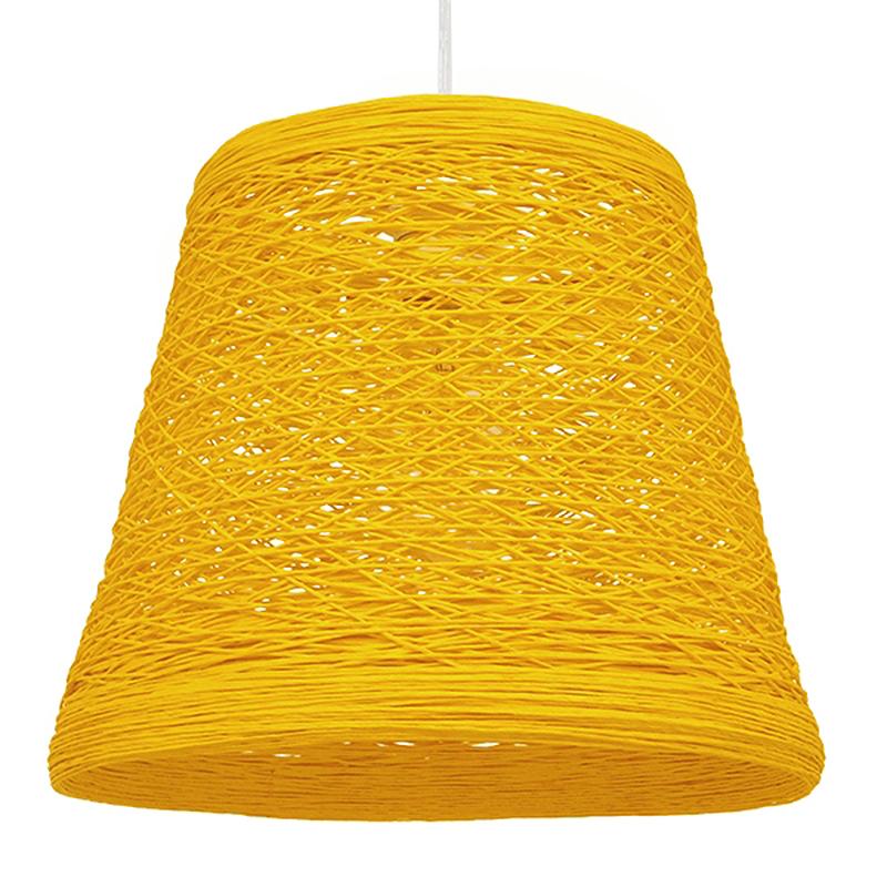 Φωτιστικό Οροφής Μονόφωτο Globostar Playroom 00998 Rattan Κίτρινο