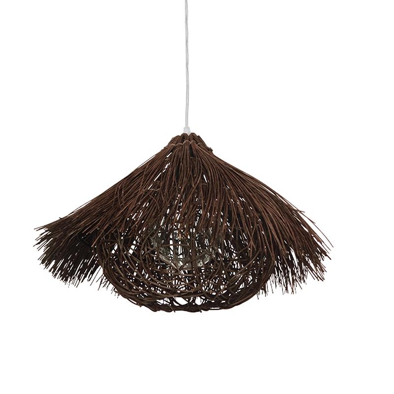 Φωτιστικό Οροφής Μονόφωτο Globostar Magie 01600 Rattan