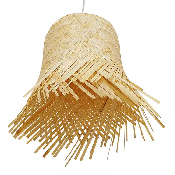 Φωτιστικό Οροφής Μονόφωτο Globostar Hawaii 01201 Bamboo